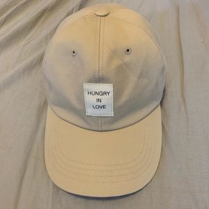 """Hungry In Love"" cap"